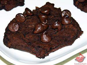 Ciastka kakaowe zfasolą idaktylami tocokocham.com