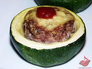 Cukinie faszerowane mięsem zindyka tocokocham.com