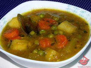 Curry warzywne zagęszczone puree zdyni tocokocham.com