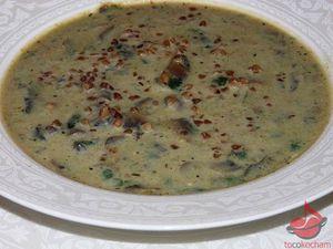 Zupa brokułowa zpieczarkami tocokocham.com