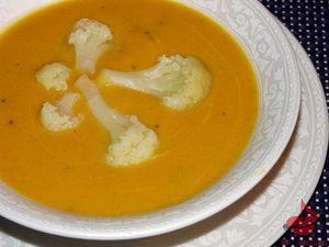 Zupa krem kalafiorowy zdynią tocokocham.com