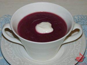 Zupa krem zczerwonej kapusty tocokocham.com