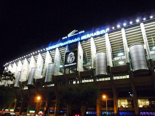 Real Madryt 2012 Estadio Santiago Bernabeu tocokocham.com