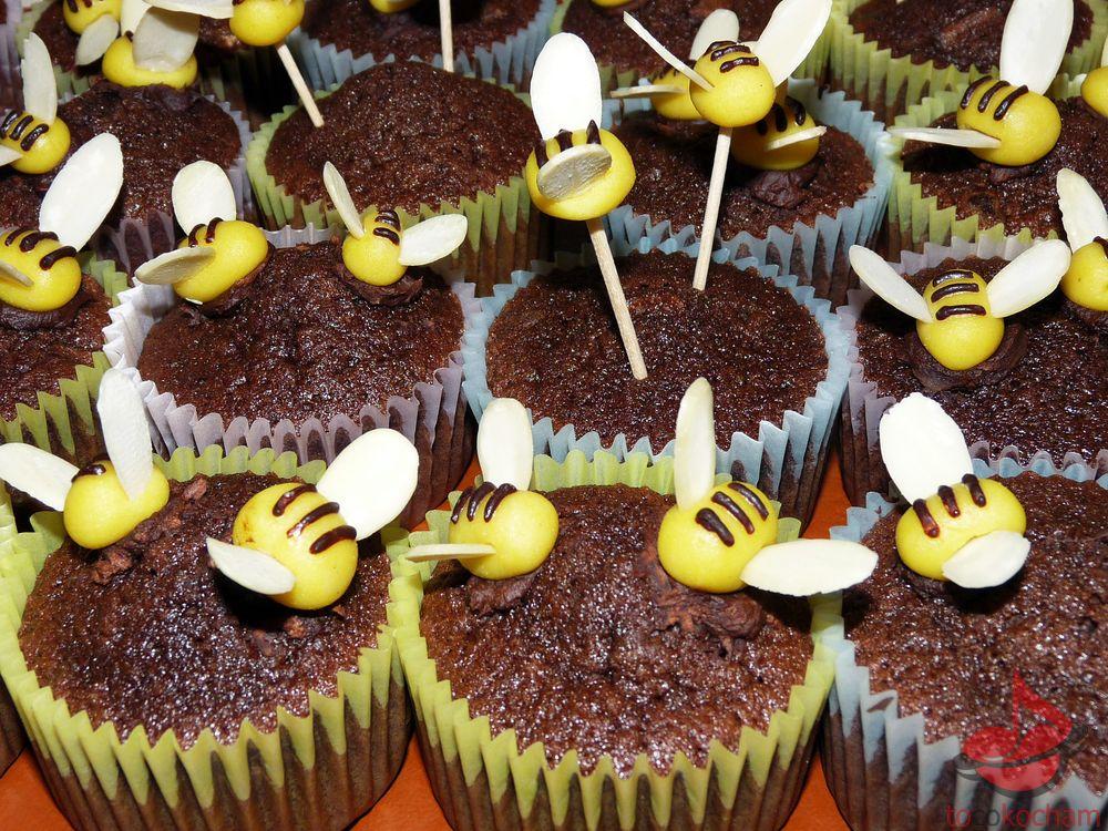 Muffinki czekoladowe tocokocham.com