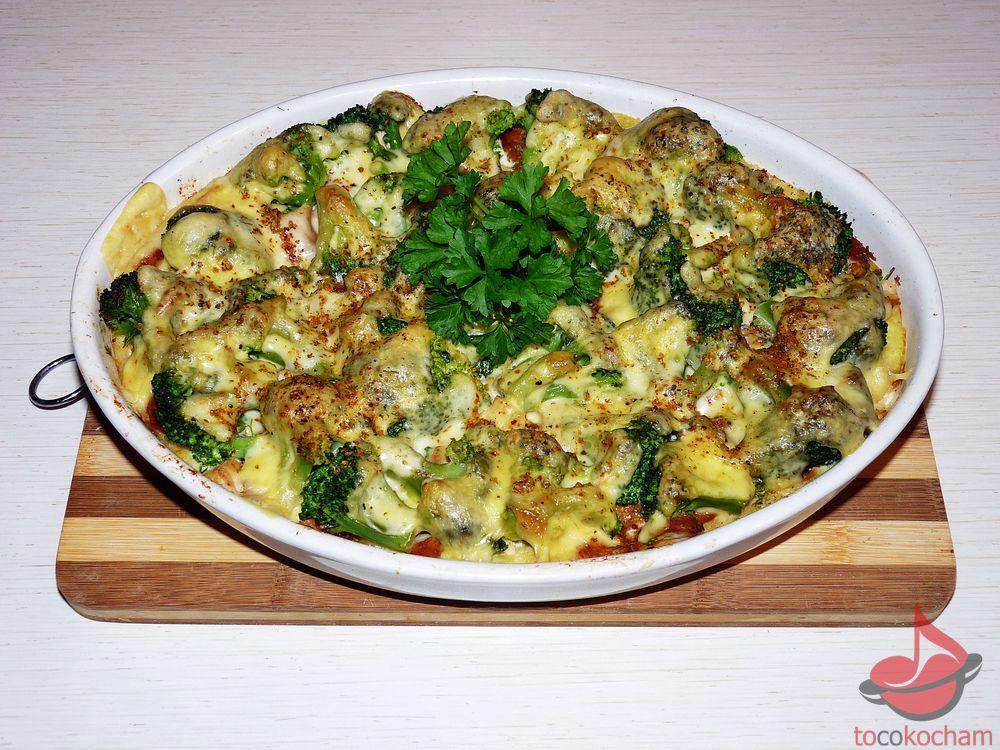Zapiekanka obiadowa tocokocham.com