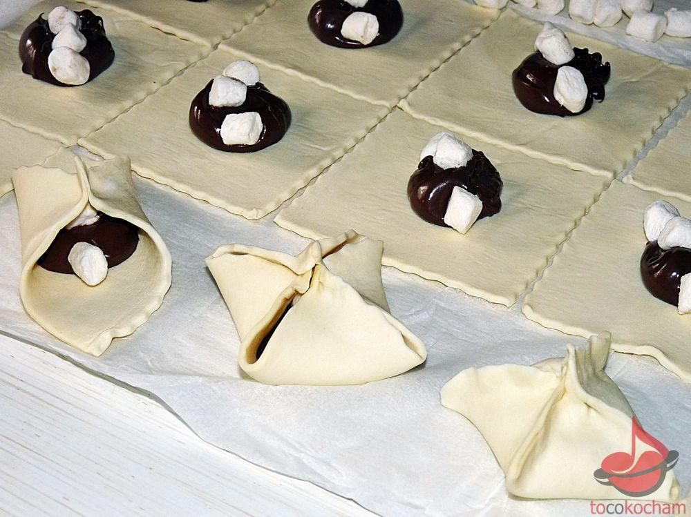 Ciastka zczekoladą imarshmallows tocokocham.com