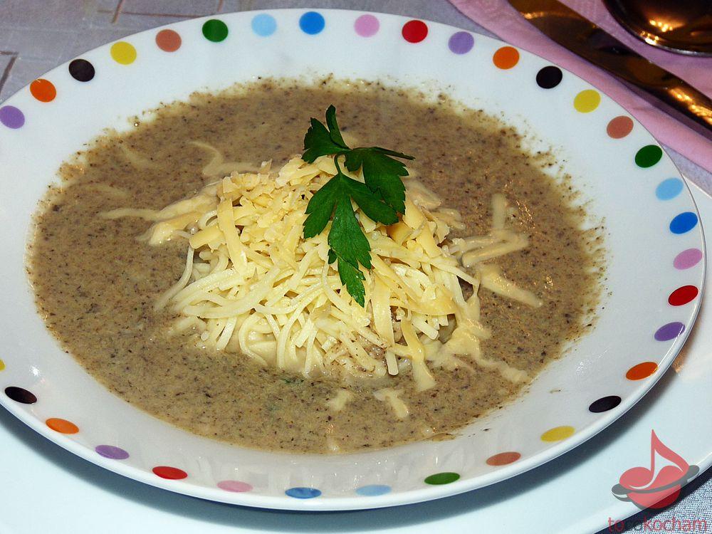 Zupa pieczarkowa tocokocham.com
