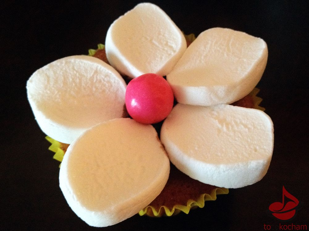 Dekoracja zpianek marshmallows tocokocham.com