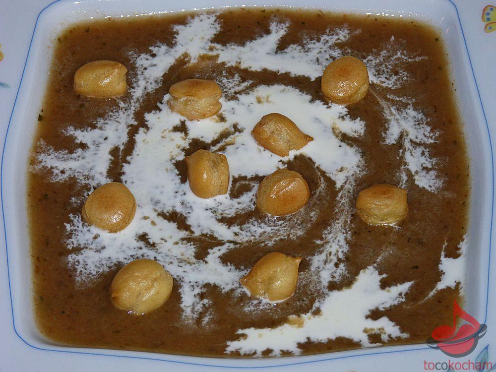 Zupa krem grzybowy tocokocham.com