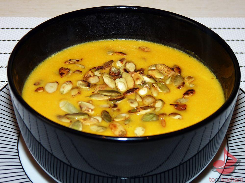 Zupa krem zdyni znutką pomarańczy tocokocham.com