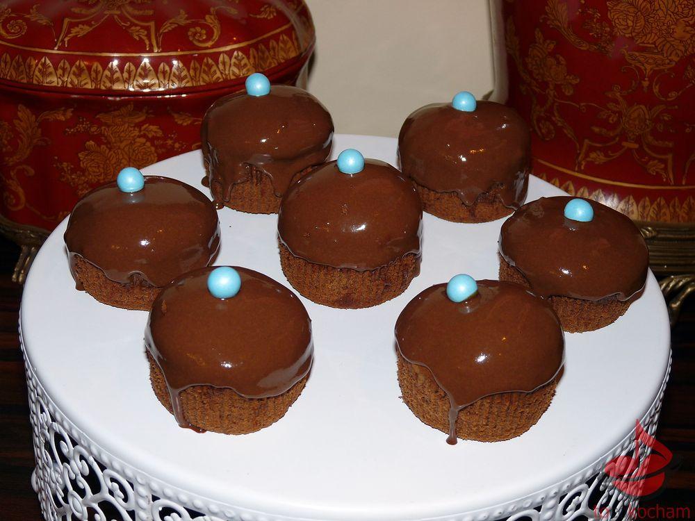 Muffinki zkremem czekoladowym tocokocham.com
