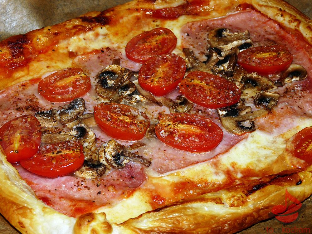 Niby pizza nacieście francuskim tocokocham.com