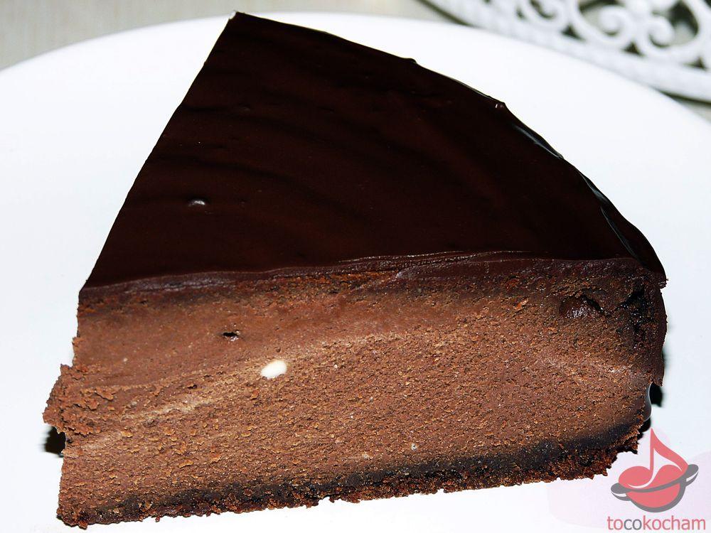 Sernik czekoladowy tocokocham.com