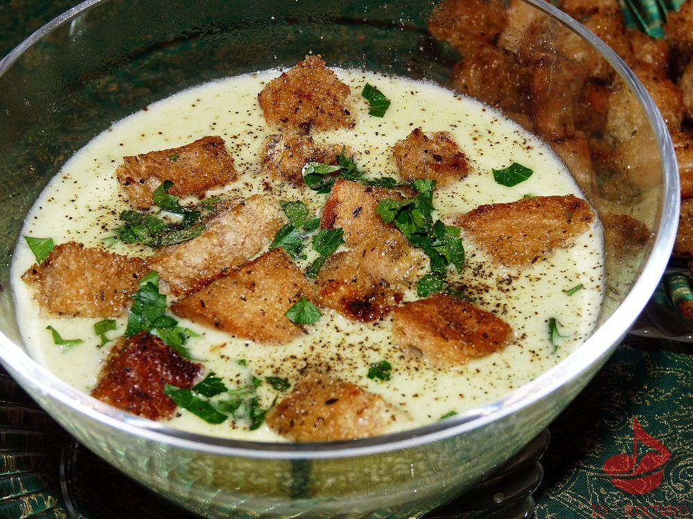 Zupa krem ziemniaczano-serowy tocokocham.com