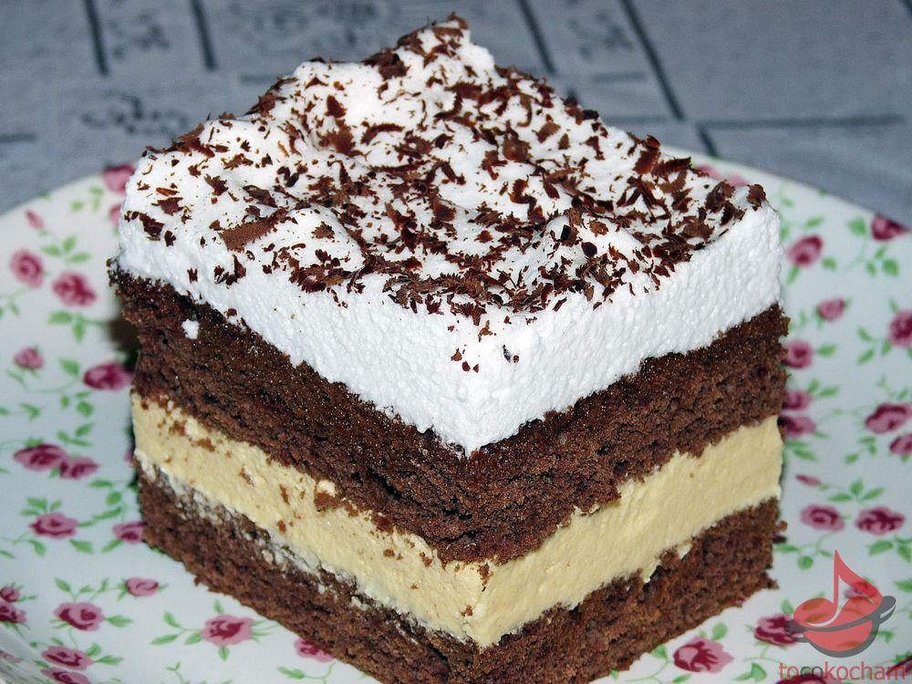 Ciasto Śniegowiec tocokocham.com