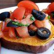 Pieczone bataty z pomidorową salsą tocokocham.com