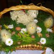 Wielkanocny koszyczek ze święconką tocokocham.com