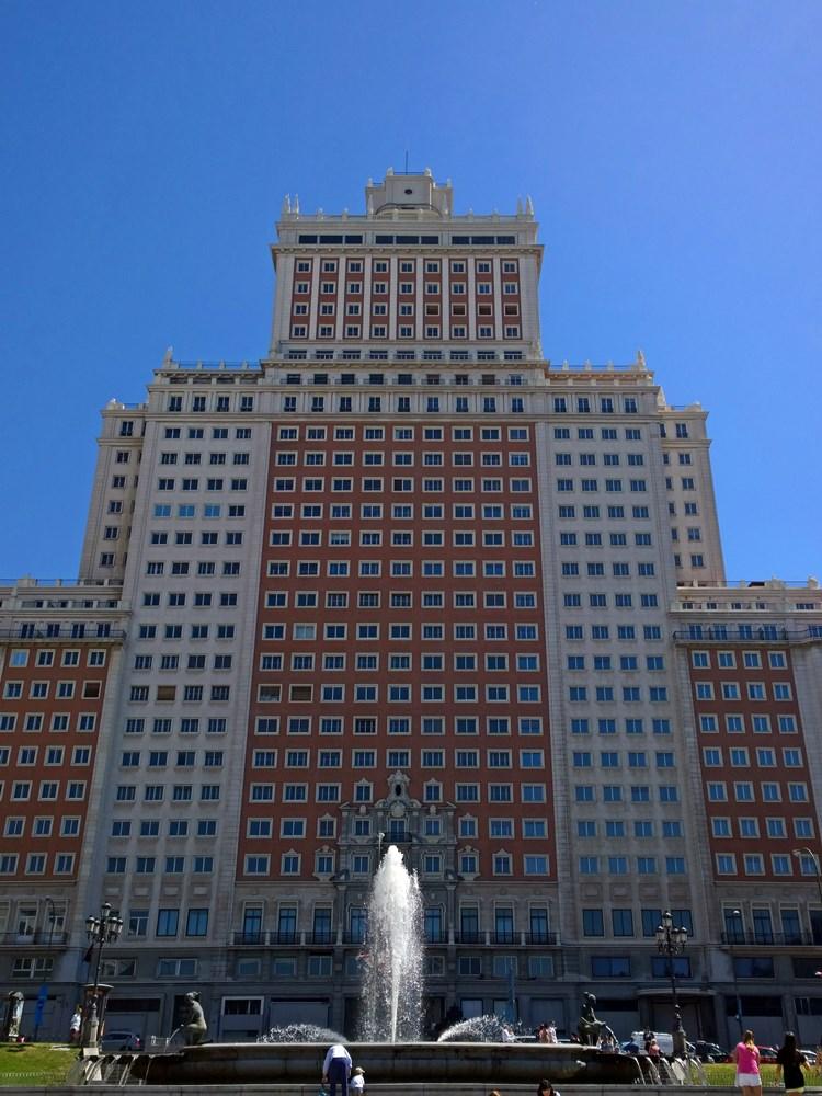 madryt hiszpania 2014 tocokocham.com edificio espana