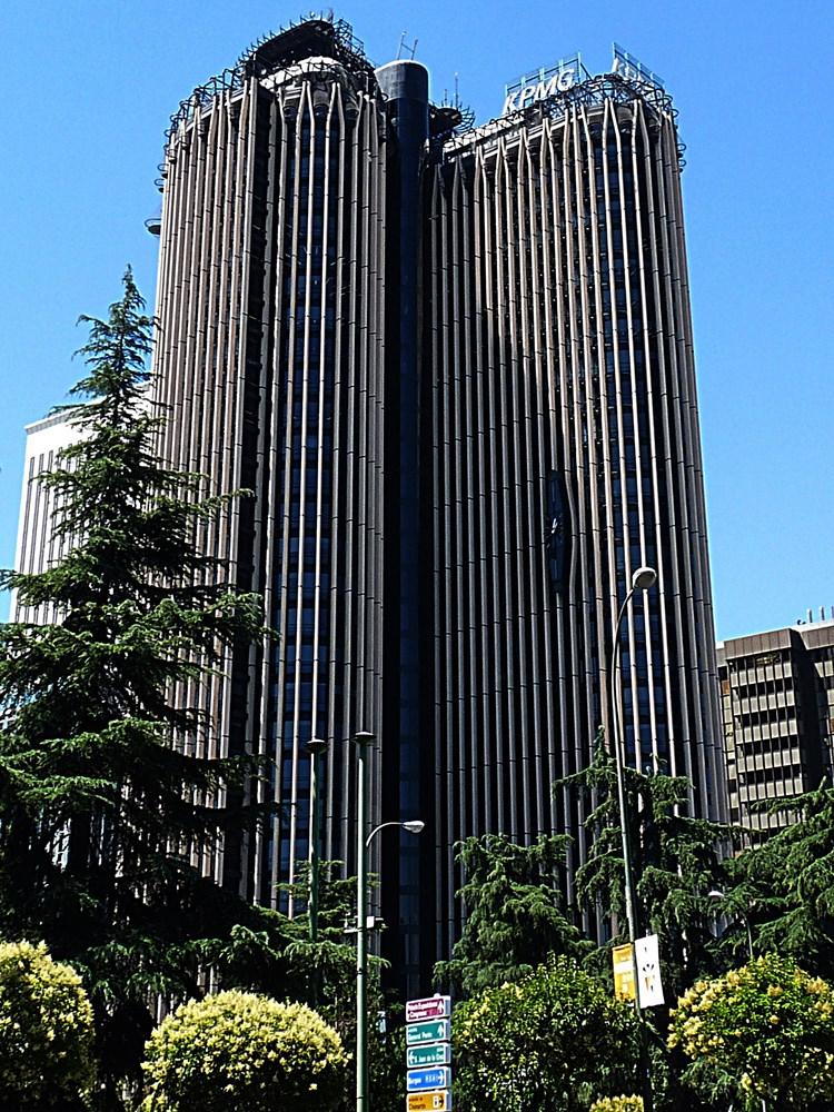 madryt hiszpania 2014 tocokocham.com torre europa