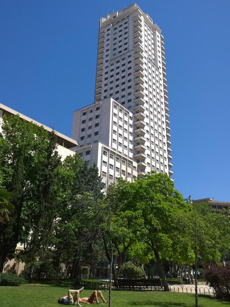 madryt hiszpania 2014 tocokocham.com torre madrid