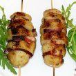 Szaszłyki z ziemniaków i boczku tocokocham.com
