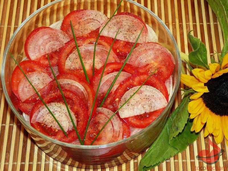 Pomidory marynowane cebulą tocokocham.com