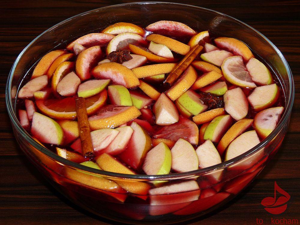 Sangria czerwona tropikalna tocokocham.com