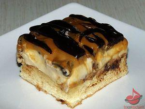 Ciasto krówka tocokocham.com