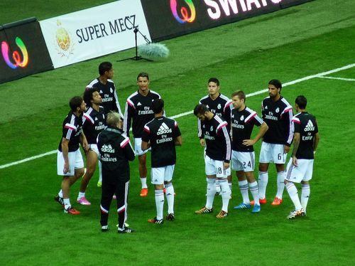 real madryt fiorentina super mecz stadion narodowy warszawa