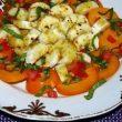 Wyśmienita sałatka z pomidorem i bananem tocokocham.com