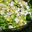 Zielona sałata z cykorią i serem feta tocokochm.com