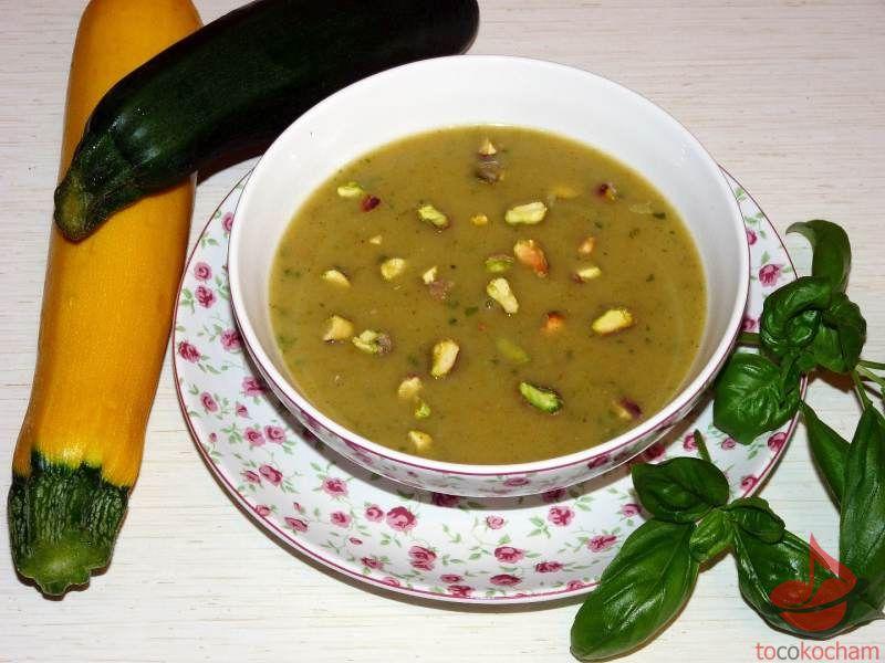 Zupa krem zcukinii tocokocham.com