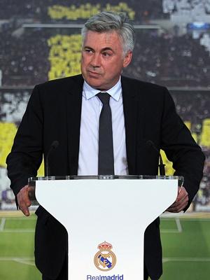 Carlo Ancelotti Real Madryt