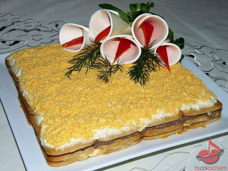 Sałatka zjajkami ituńczykiem nakrakersach tocokocham.com