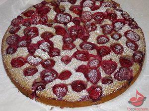Ciasto ekspresowe ztruskawkami tocokocham.com