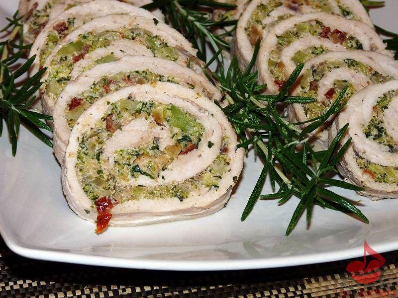 Rolada zindyka faszerowana brokułem tocokocham.com