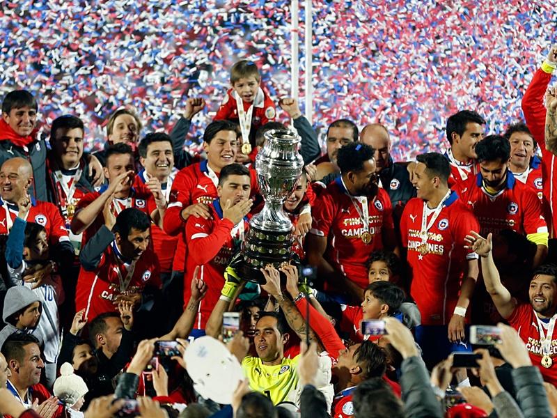 Chile mistrz Ameryki Południowej 2015