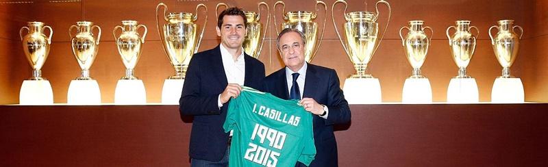 Iker Casillas Florentino Perez