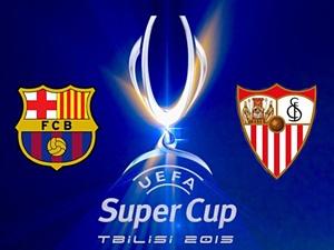 Barcelona Sevilla 5-4 Superpuchar Europy Tbilisi 2015