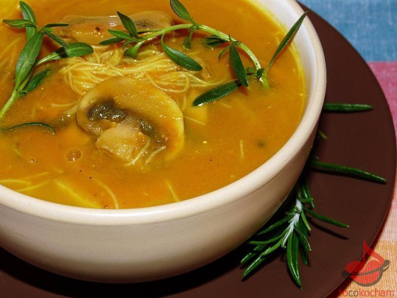 Zupa pieczarkowa curry tocokocham.com