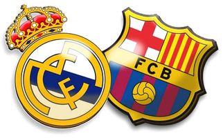 Gran Derbi Clasico Real Barcelona 2015 Madryt