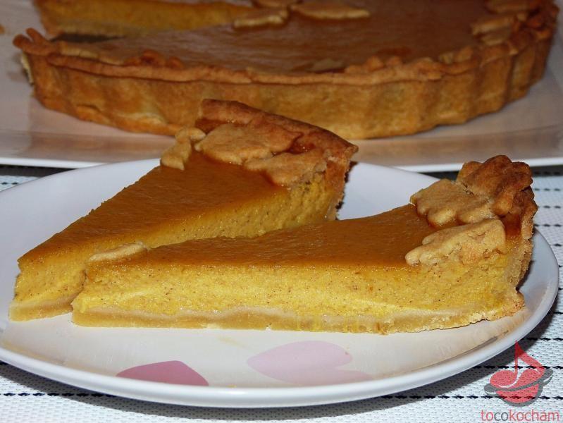 Pumpkin pie ciasto dyniowe tocokocham.com
