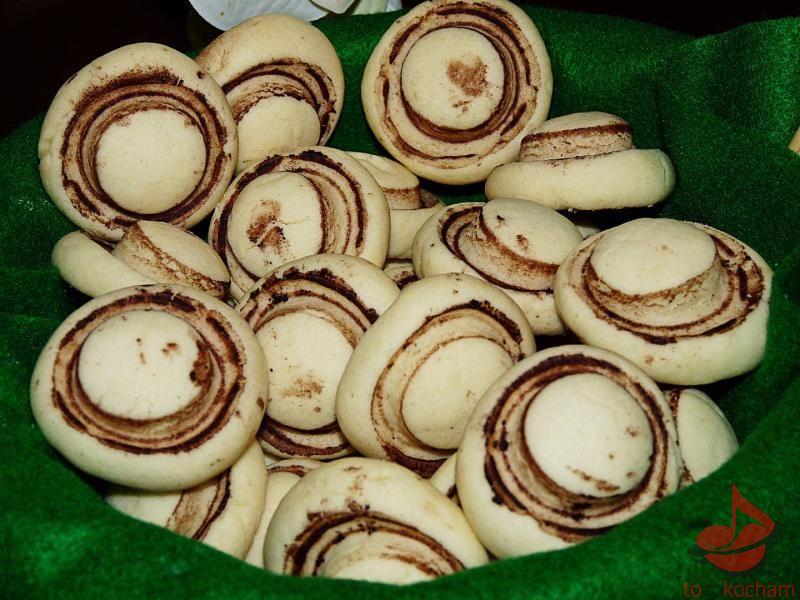 Ciastka Słodkie pieczarki tocokocham.com
