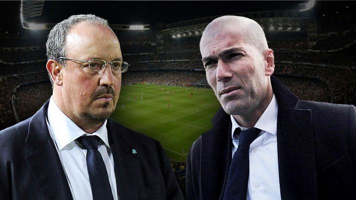 Rafa Benitez Zinedine Zidane zmiana trenera Real