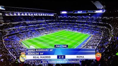 1/8 finału Champions League 2016 Real Roma