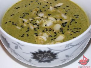 Błyskawiczna zupa zcukinii tocokocham.com