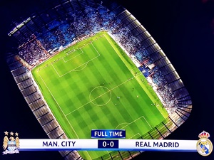 Manchester City Real 0-0 półfinał Liga Mistrzów 2015/2016