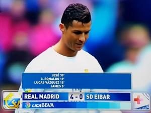 Real Eibar 4-0 liga hiszpańska 2015/2016