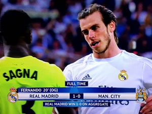 Real Manchester Ciy 1-0 półfinał Liga Mistrzów 2015/2016