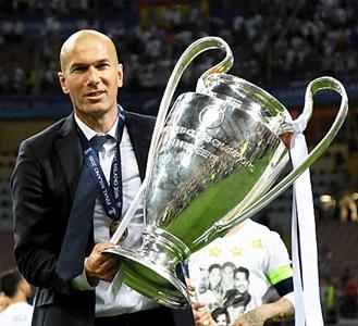 Zinedine Zidane Real Madryt Liga Mistrzów 2016